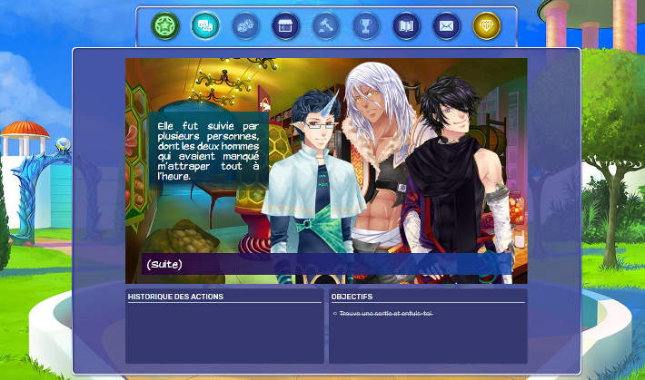 Personnages principaux rencontrés dans le jeu