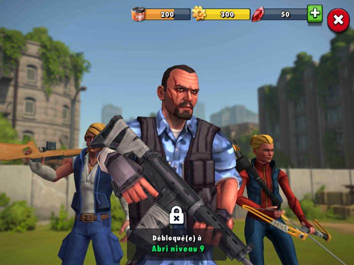 Quelques survivants dans Zombie Anarchy