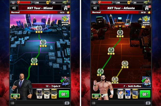 Nxt Tour - WWE Champions