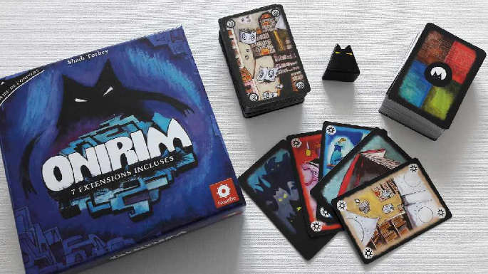 Version Boîte du jeu Onirim de Shadi Torbey