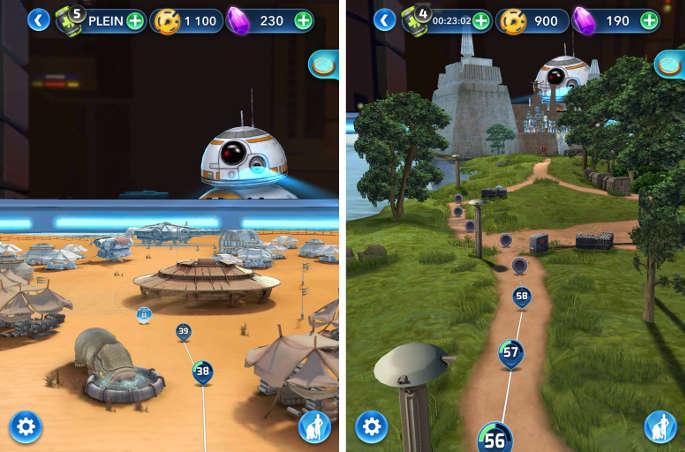 Les méandres de la mémoire de BB-8 : Map