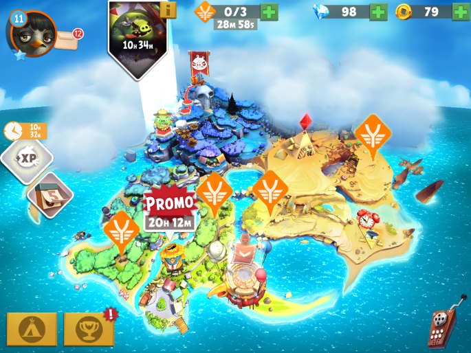 Map dans Angry birds evolution