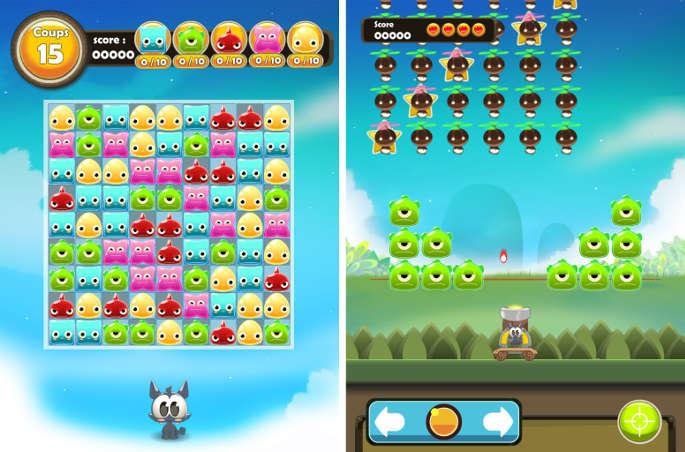 Mini jeux dans Dofus Pets