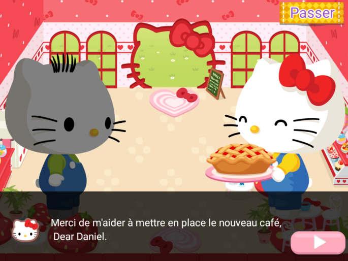 Histoire dans Hello Kitty Café de Rêve