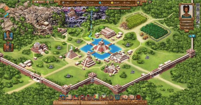 Notre cité Maya dans Tentlan