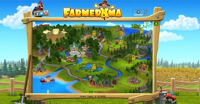 Map générale - Farmerama