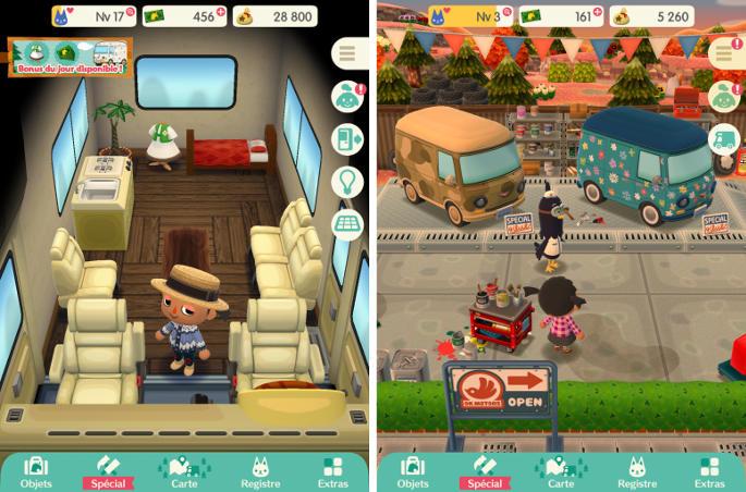 Animal Crossing Pocket Camp, coup de cœur 2017