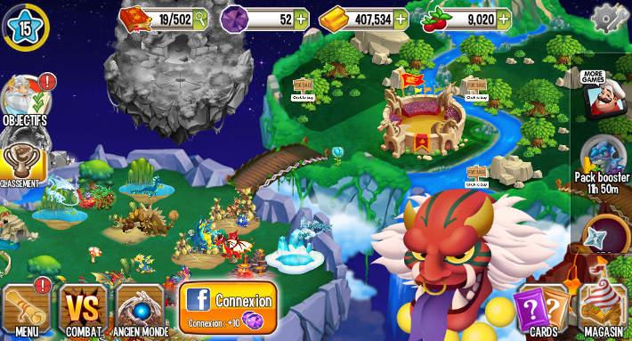 Elevage de dragons : Dragon City