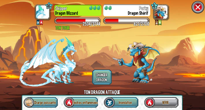 Combat Dragon City