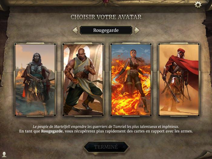 Choisir son Avatar