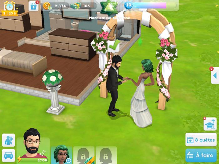 Un beau Mariage entre Cyanoz et Gameof