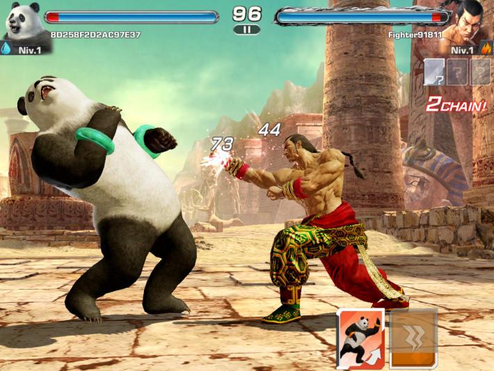 Combat : Tekken Mobile