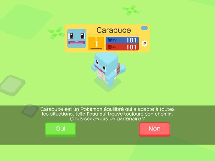 Pokémon Quest Carapuce