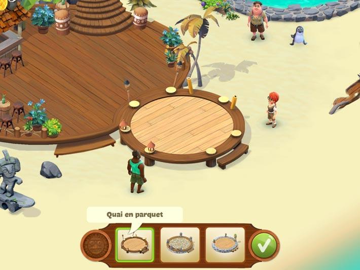 Lost Island- décorer son île
