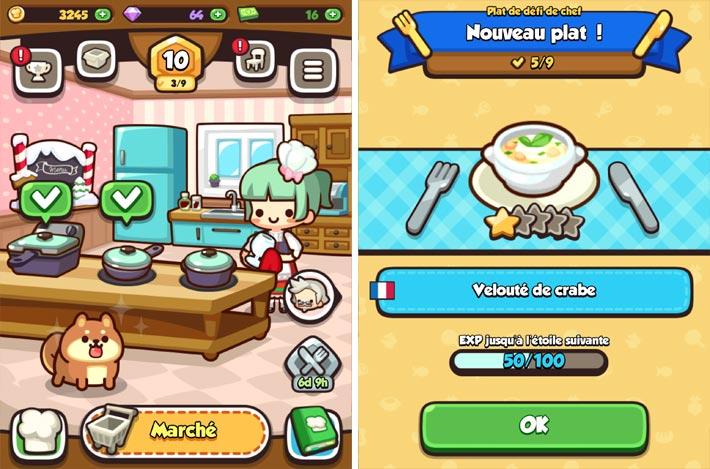 Tous en cuisine ! jeu de cuisine gratuit