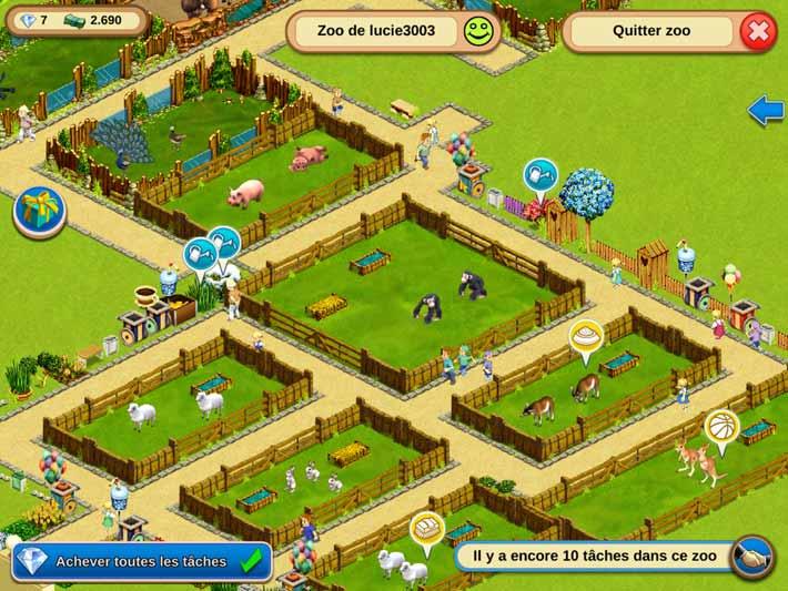 My free Zoo un jeu social