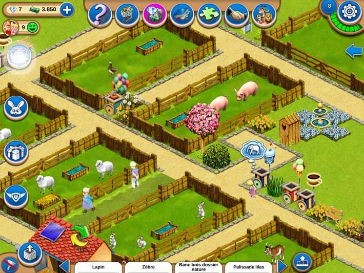 My Free zoo jeu gratuit