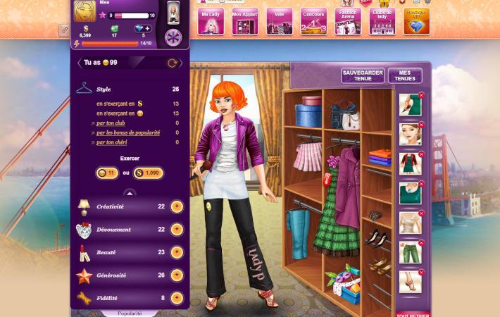 lady Popular : caractéristiques et niveau de popularité