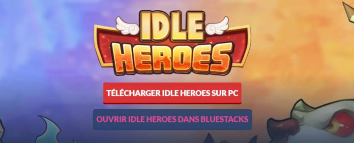 Idle heroes sur PC