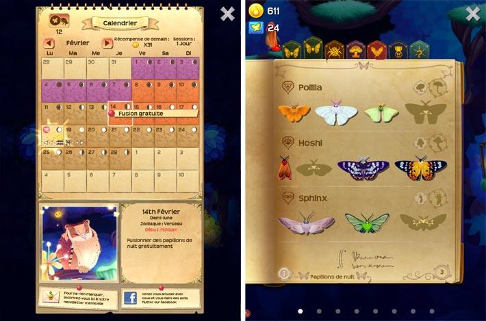 Flutter: Starlight, le calendrier lunaire