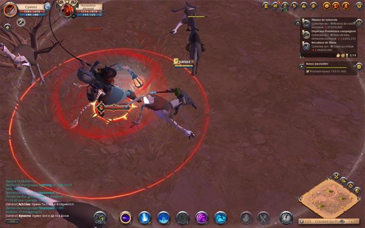 Albion Online, des combats en temps réel