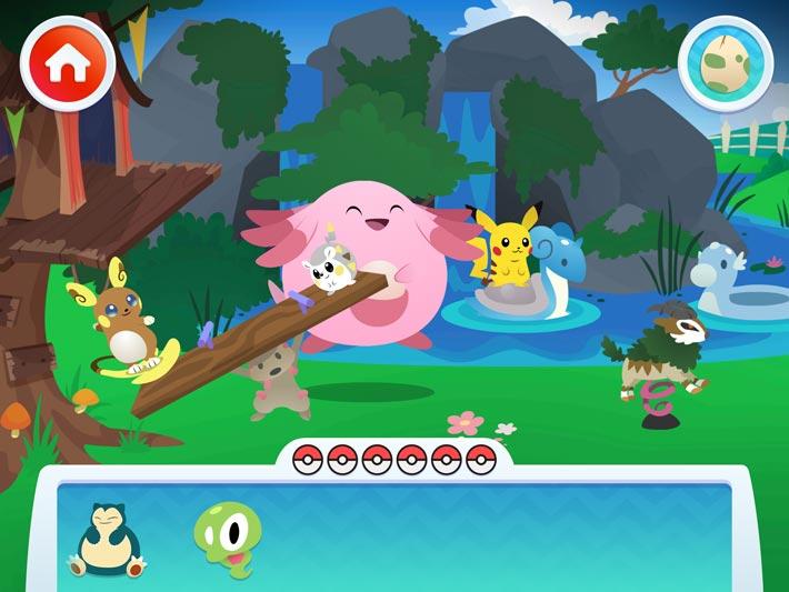 pavillon Pokémon, un parc pour regarder nos amis jouer