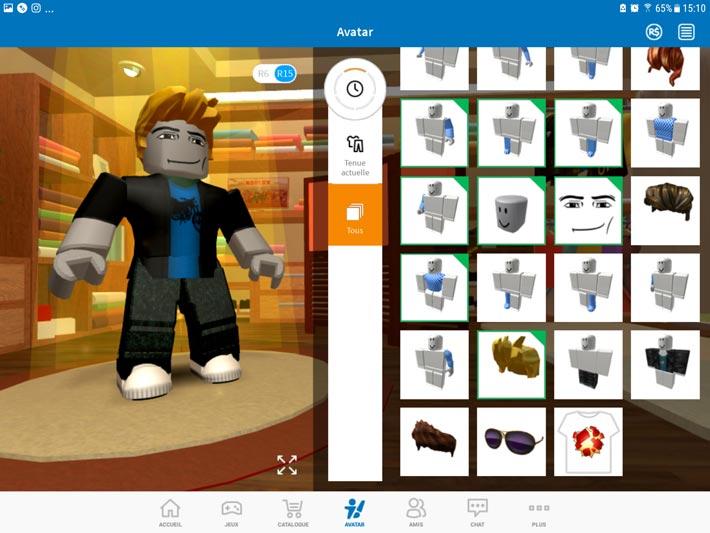 Roblox, des accessoires pour son avatar