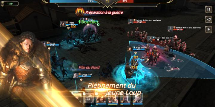Mode Weirwood : Combats tactiques