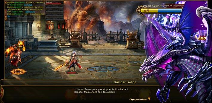 Souverain des Dragon, une histoire de chevalier dragon