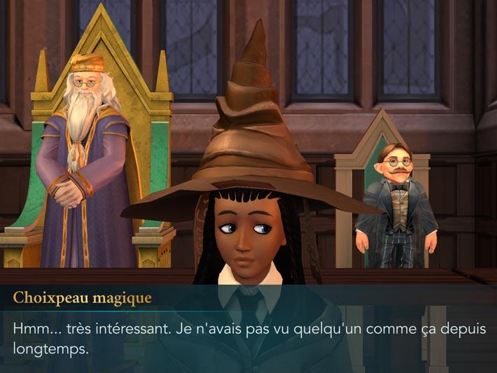 Harry Potter: Le secret de Poudlard, les Maisons et le Choixpeau
