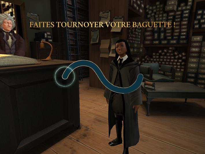 Harry Potter: Secret à Poudlard, agitez votre baquette pour gagner