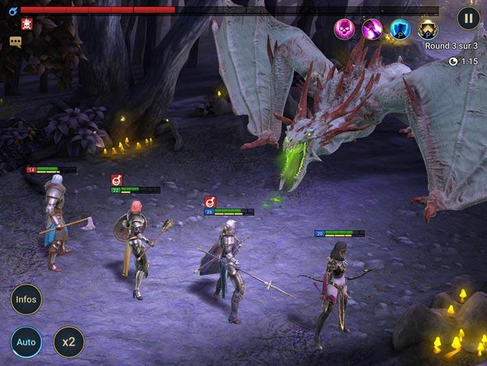Raid Shadow Legends des combats épiques contre des boss
