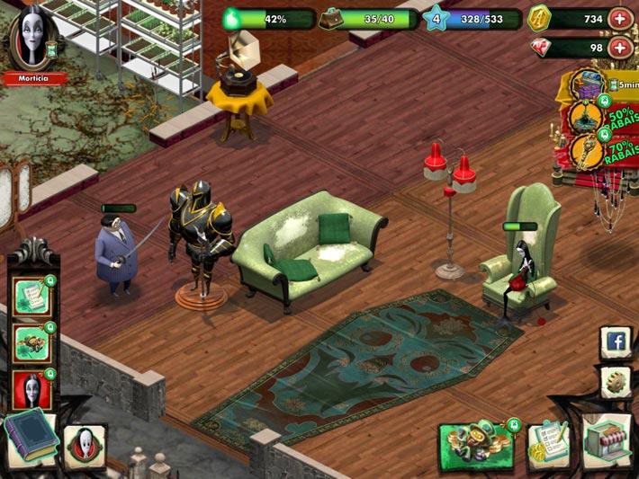 La Famille Addams - Mystère Manoir, la famille est très occupé