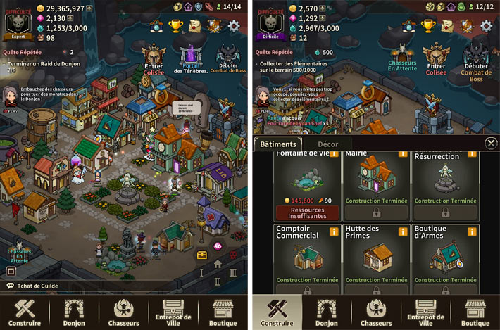 Evil Hunter Tycoon, un village de chasseurs pas comme les autres