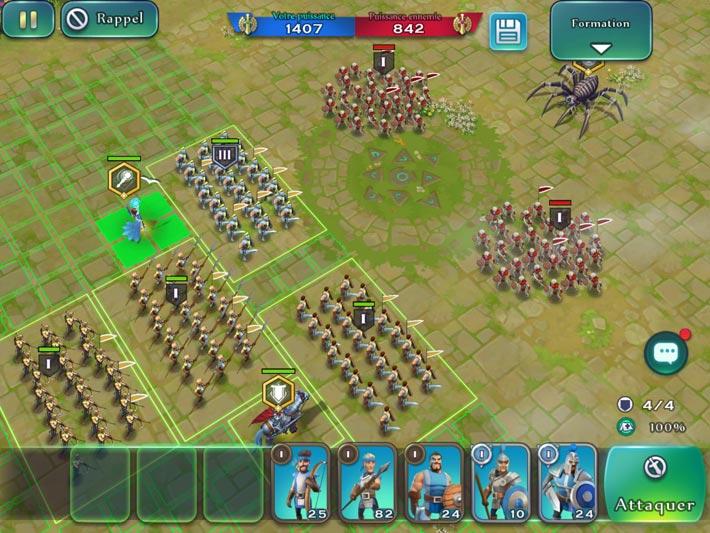 Art of Conquest: Dark Horizon, des combats stratégiques