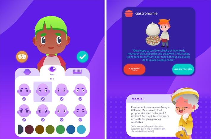 Idle Life Sim, création de son avatar