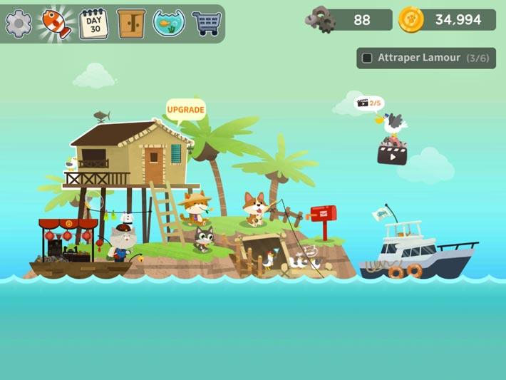 The Fishercat, une île colorée et joyeuse