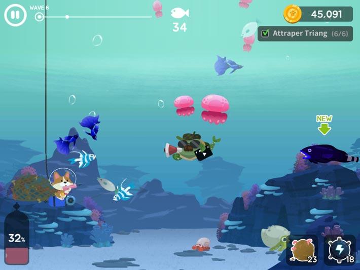 The Fishercat, explorez les fonds marins
