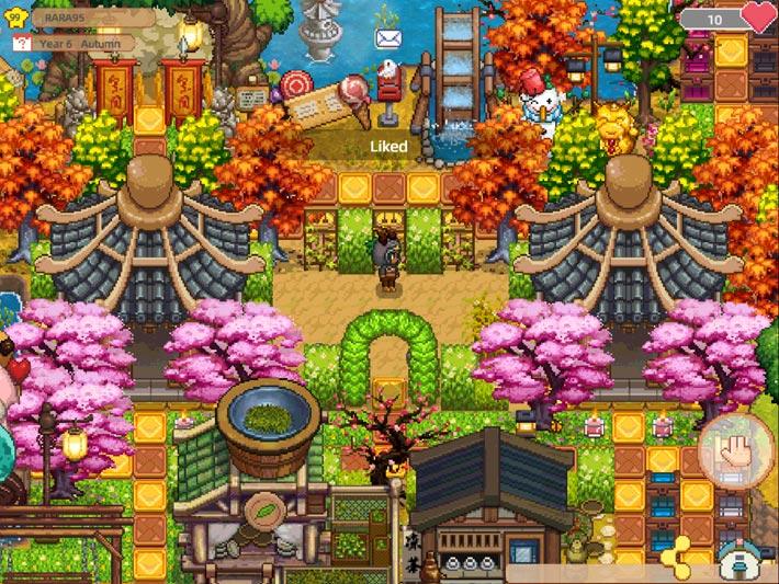 Harvest Town, décorez votre ferme