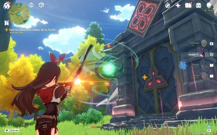 Genshin Impact, un système de combat élémentaire poussé