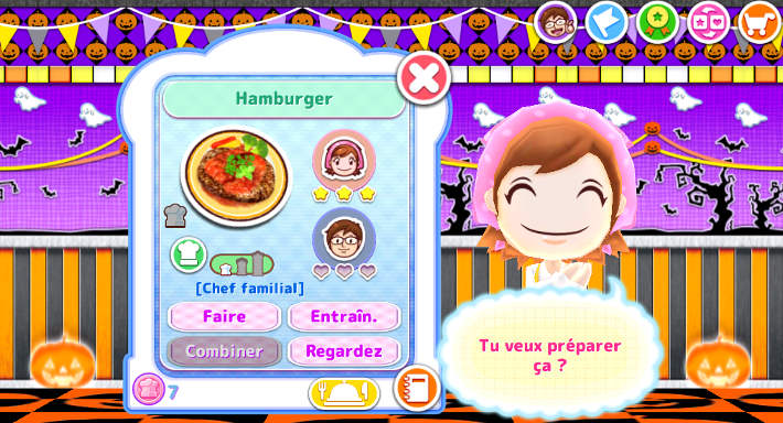 Hamburger : Cooking Mama