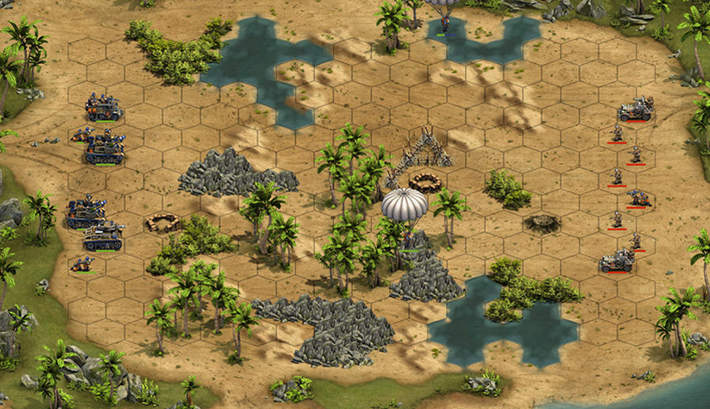 bataille au tour par tour : Forge of Empires