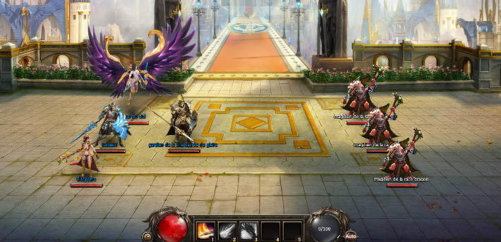 Combats sur Chevalier du dragon