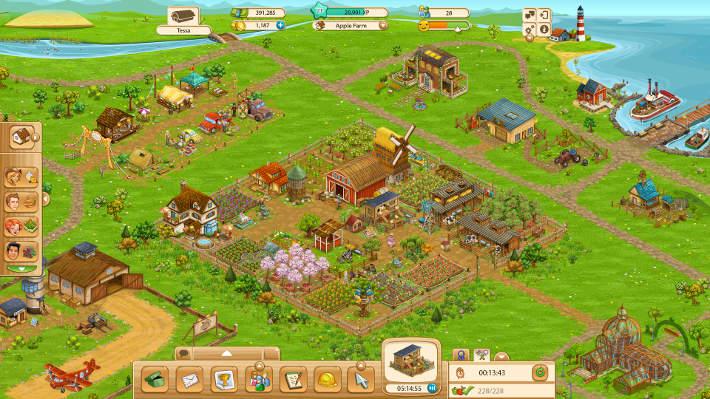Exemple de ferme : Big Farm