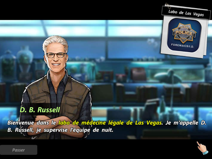 Russel nous accueil - Les Experts: Hidden Crimes