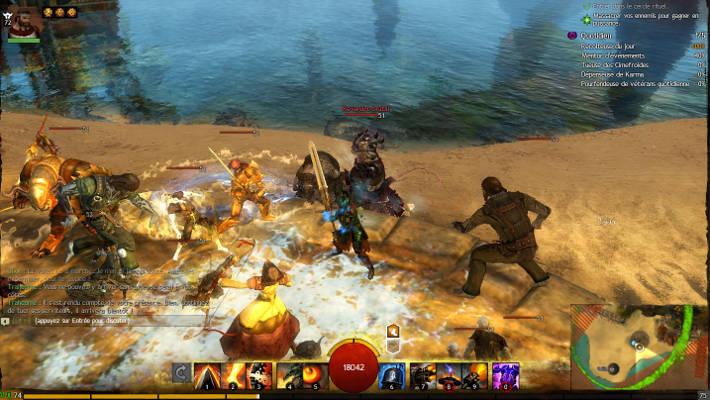 Combat dans Guild Wars 2