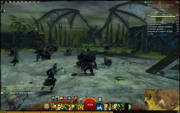 Dragon ancestral à l'île de la griffe : Guild Wars 2