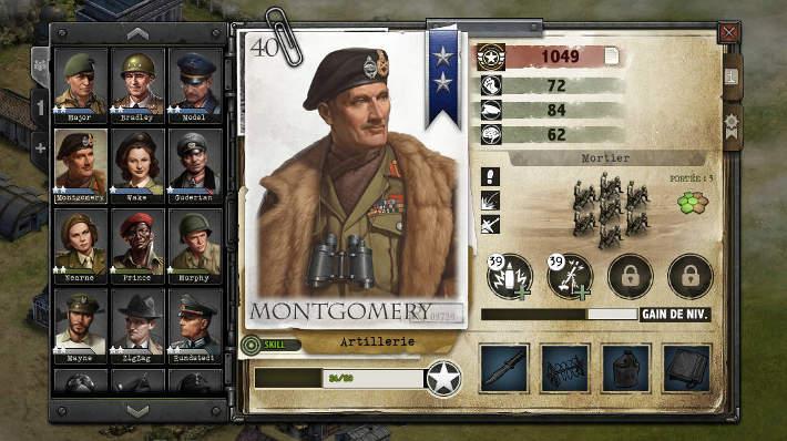 Montgomery dans Liberators