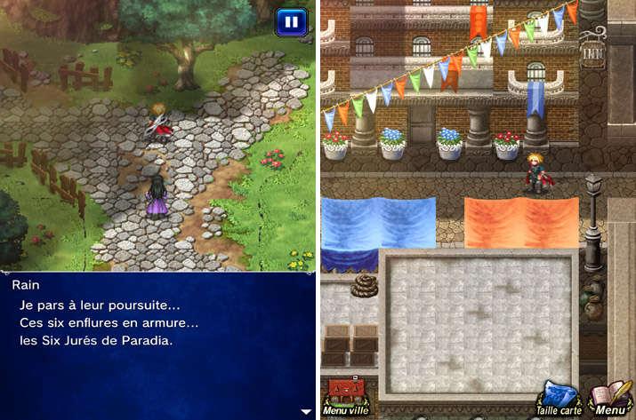 Exploration dans Final Fantasy Brave Exvius