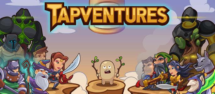 Jeu Tapventures sur Android